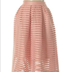 New York and company pink skirt